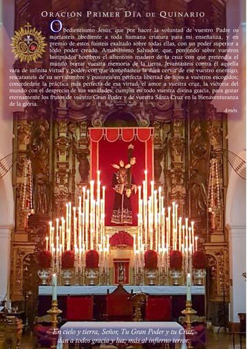 Solemne y Devoto Quinario a Nuestro Padre Jesús del Gran Poder