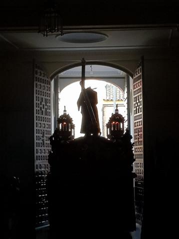 Oración especial para los cofrades y rezo del Vía Crucis para esta Semana Santa