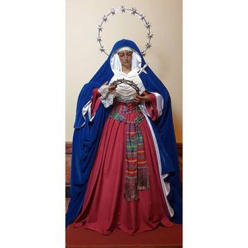 La Santísima Virgen vestida de hebrea