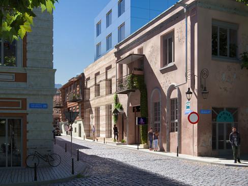 Hotel on Leselidze Str.