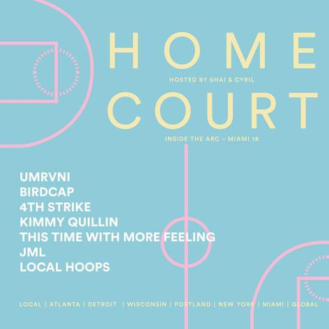 Homecourt Artbasel 2018
