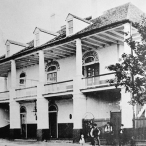 Algiers is very much New Orleans; was often the soil where enslaved ancestors first stepped foot