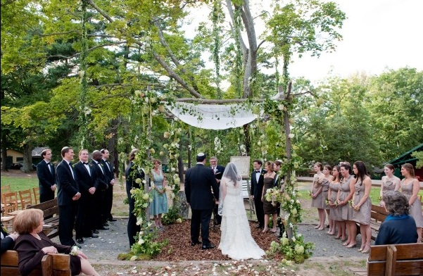 Pocono camp wedding venue