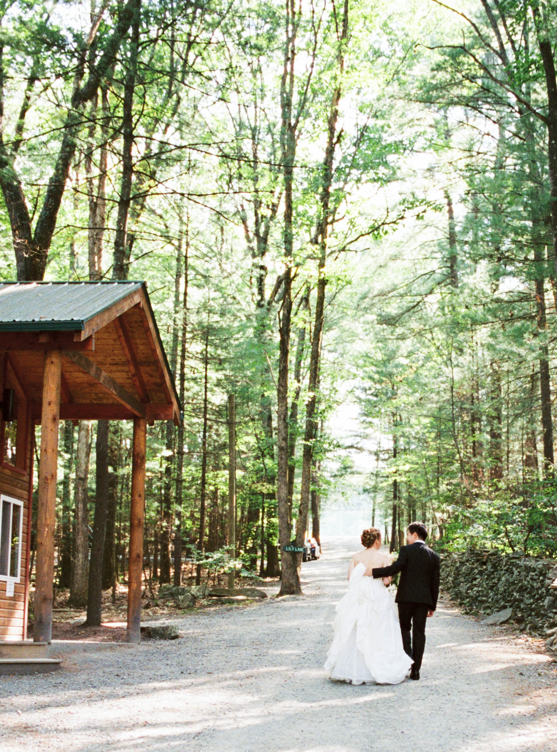 Summer camp wedding venue