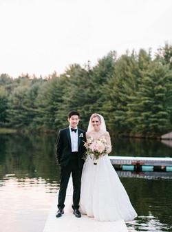 Waterfront Poconos Wedding Venue
