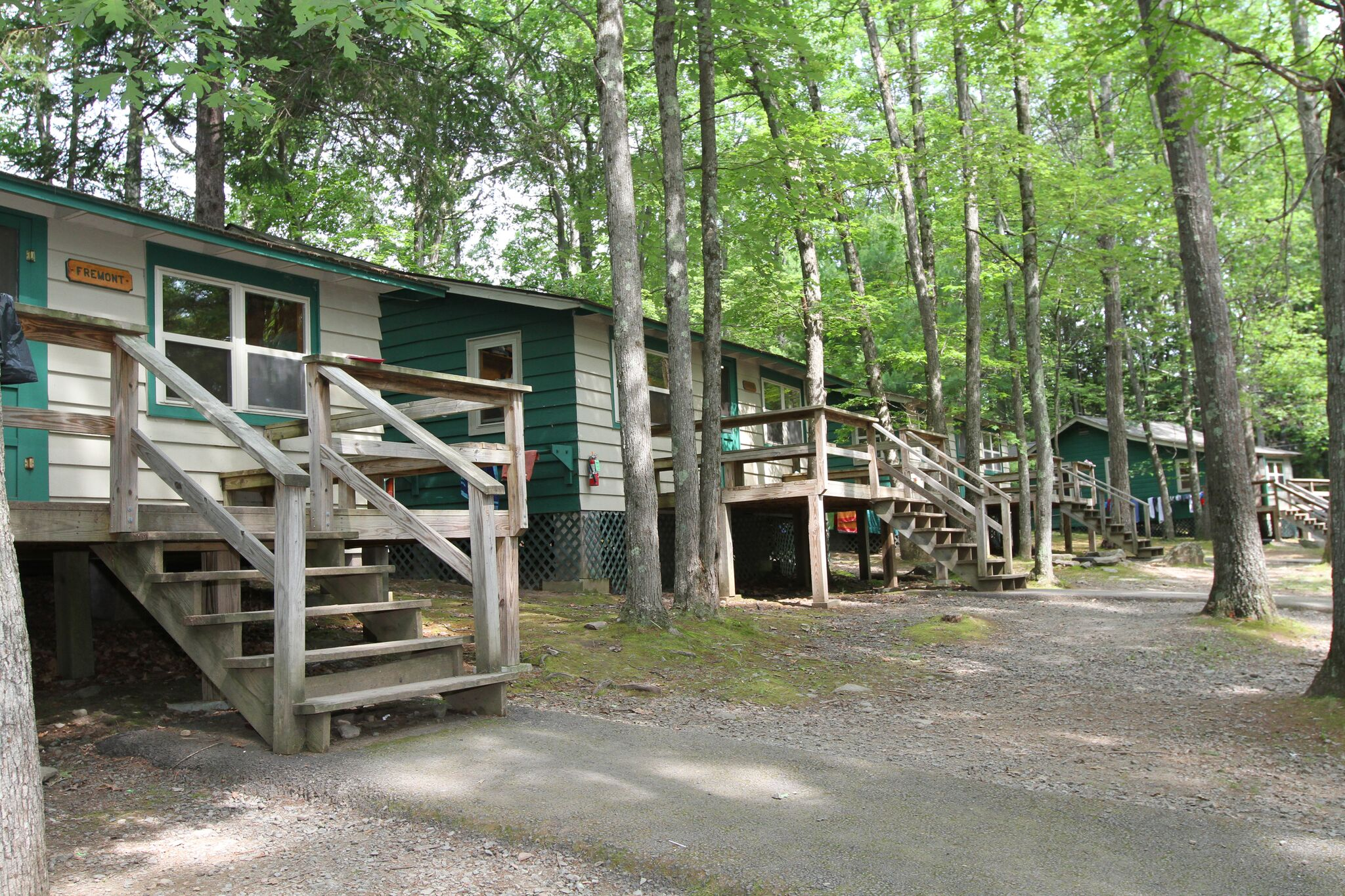 Bunks at Lake Owego Camp