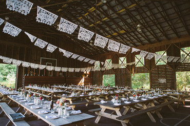 Rustic Poconos Barn Wedding Venue
