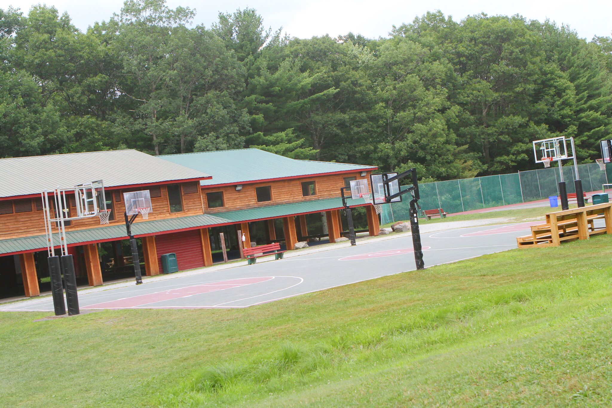 Fitness at Camp Timber Tops