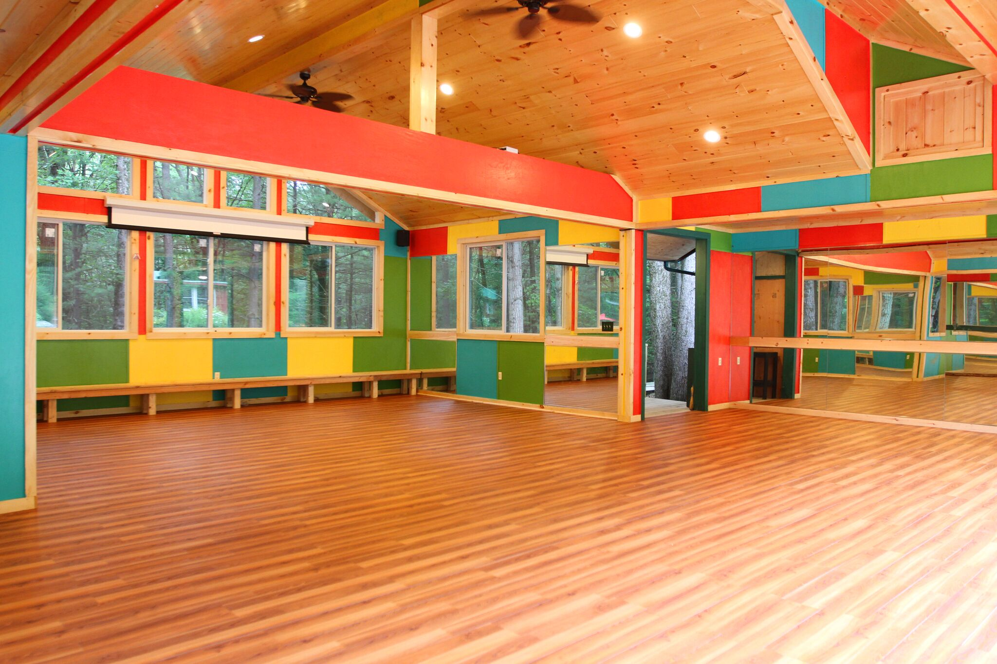 Dance Studio at Camp Timber Tops