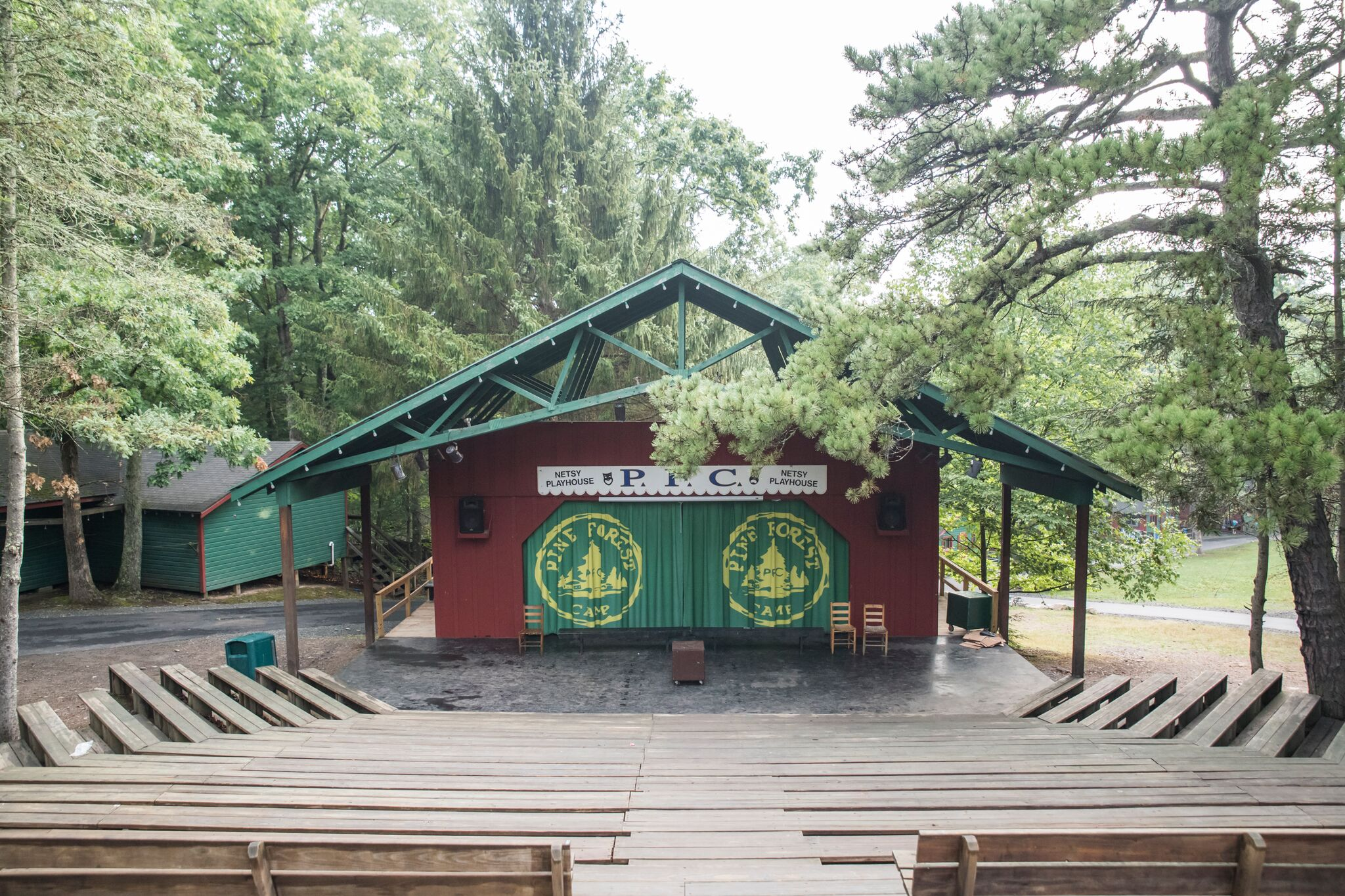 Netsy Playhouse at Pine Forest Camp