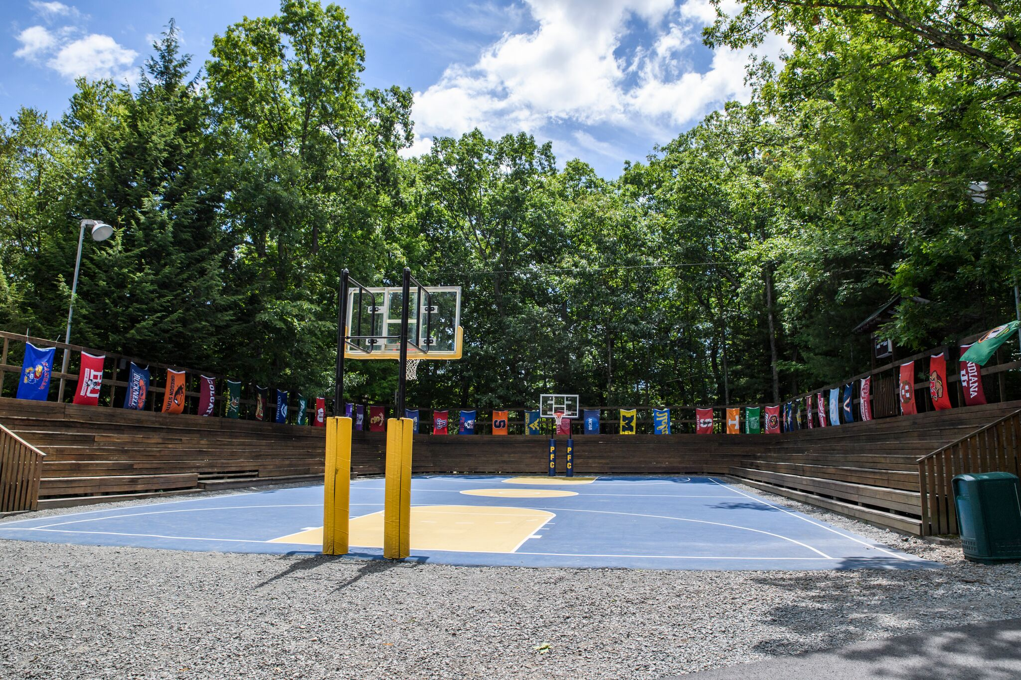Courts at Pine Forest Camp