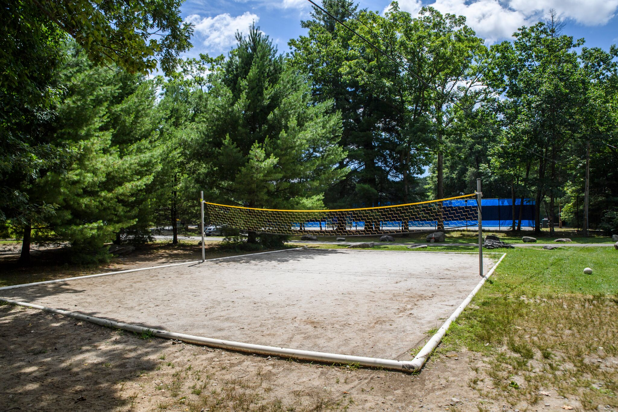 Sand volleyball at Pine Forest Camp