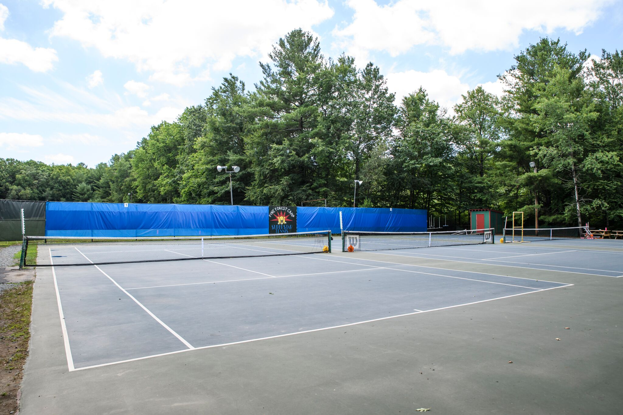 Tennis at Pine Forest Camp