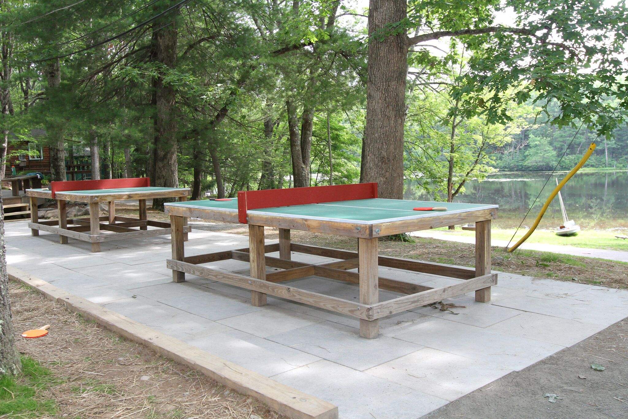 PingPong at Lake Owego Camp