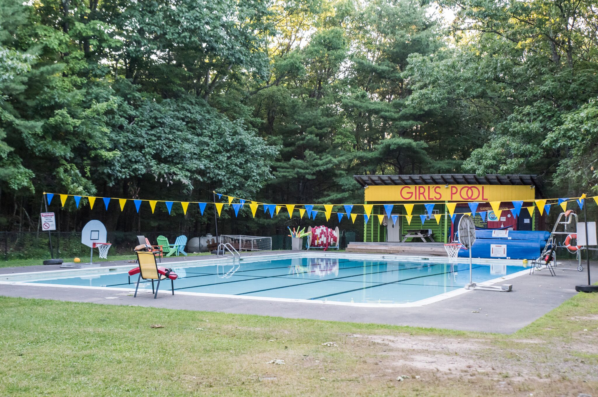 Girl's Pool at Pine Forest Camp