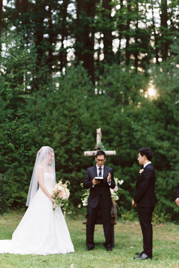 Camp Timber Tops Wooded Ceremony Venue