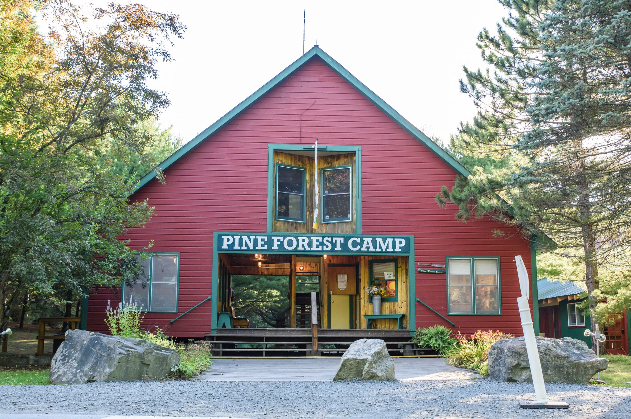 Front Office at Pine Forest Camp