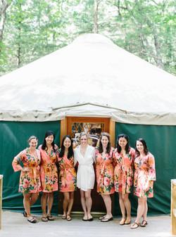 Pocono Wedding Yurt Accommodations