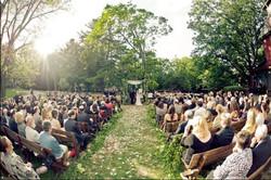 Outdoor Poconos Wedding Venue