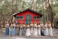 bridal party mimosa