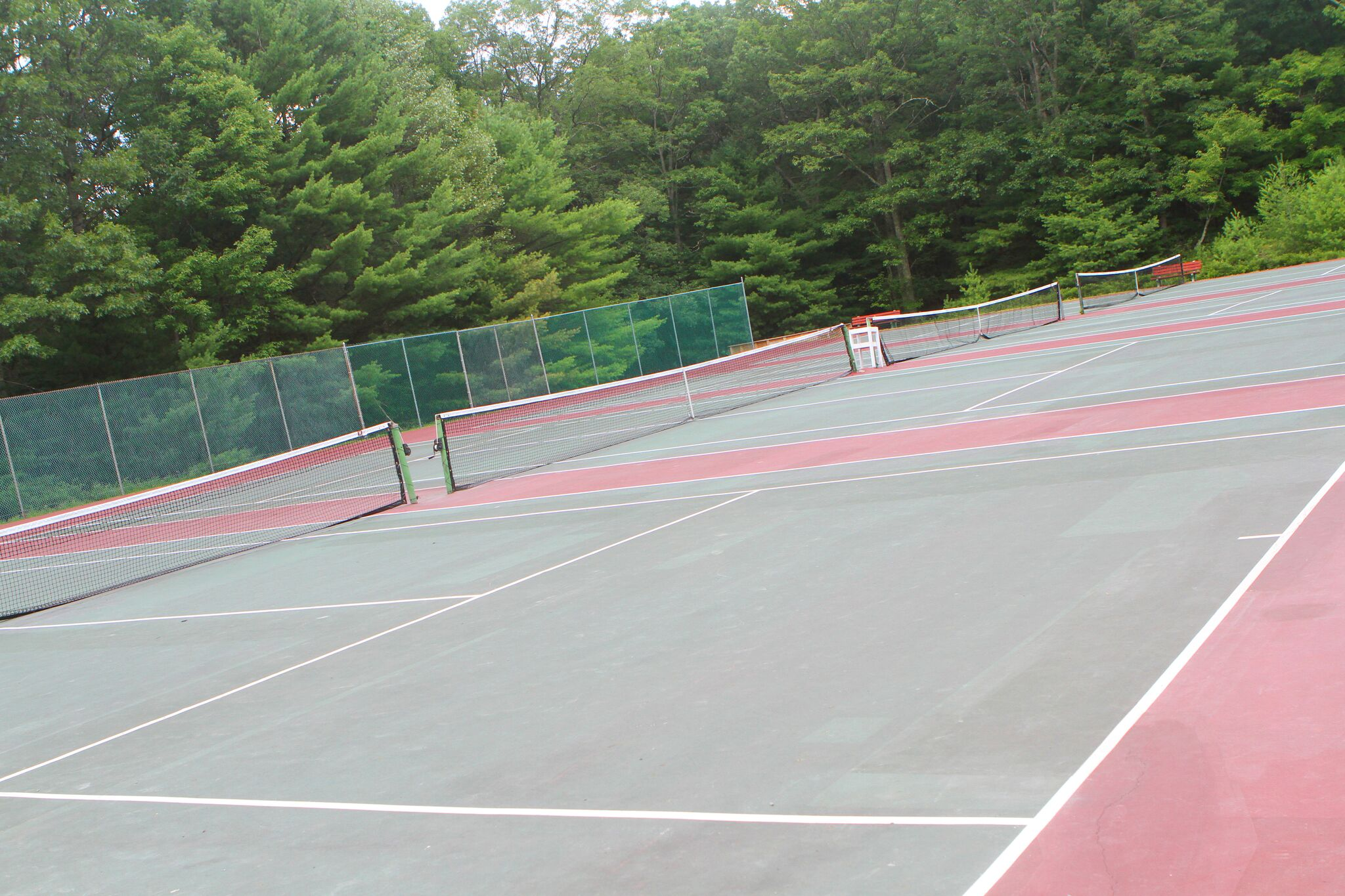 Tennis at Camp Timber Tops