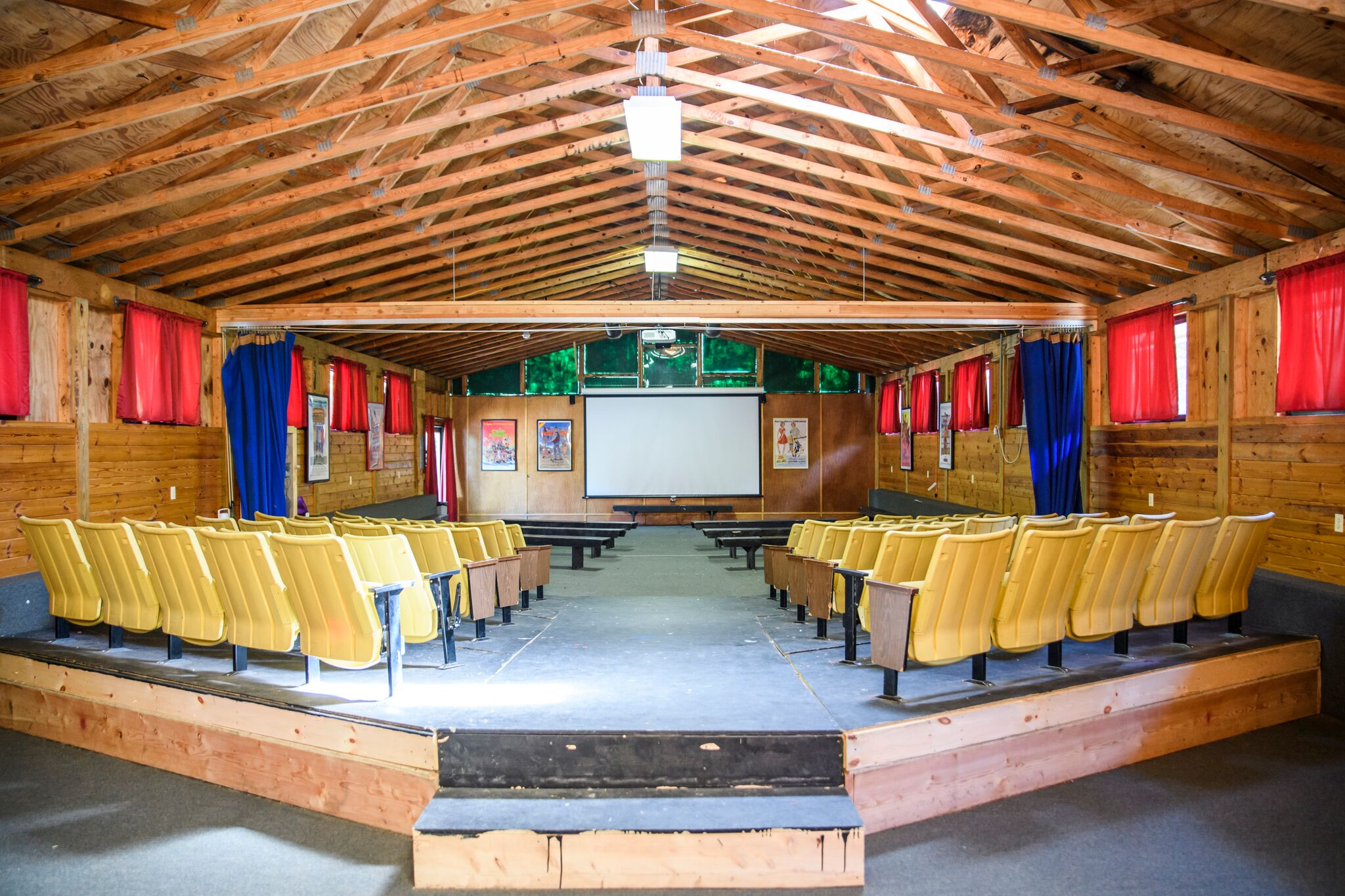 Movie Theater at Pine Forest Camp