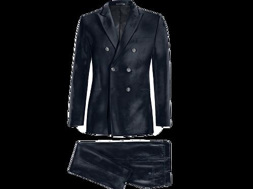 Velvet Double breasted Dandy Suit