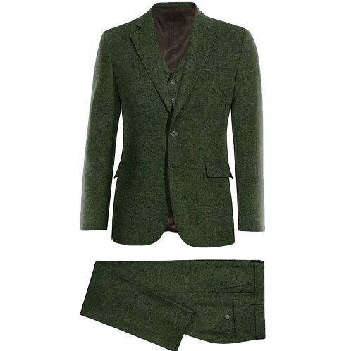 A Classic 3 Piece Tweed Suit