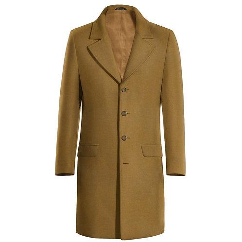 Coat long wool