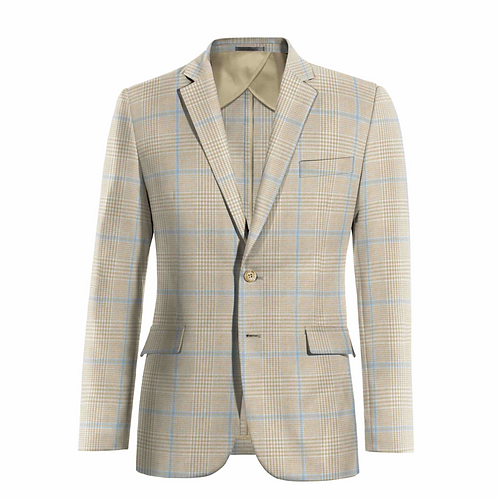 2 Button Blazer, Unlined (unconstructed)