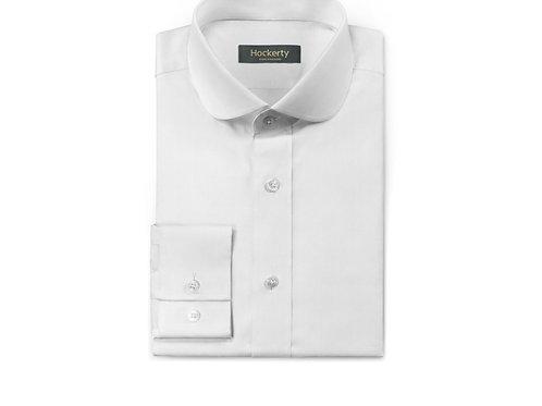 Club collar, long sleeve