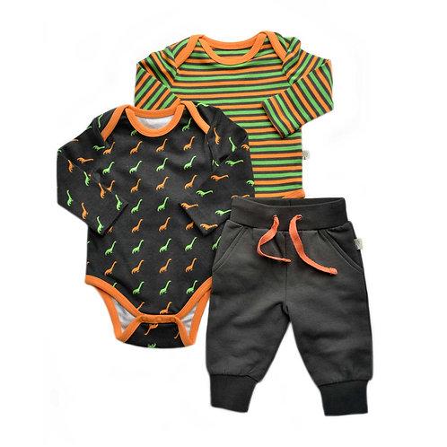 Organic Cotton Baby 2-Pack Bodysuit & Pants set