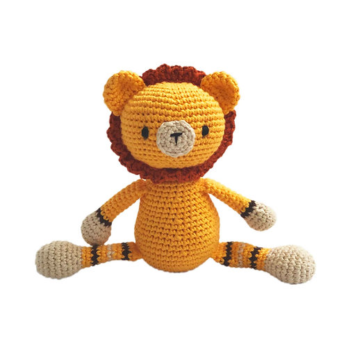 Organic cotton Amigurumi Toy Lion