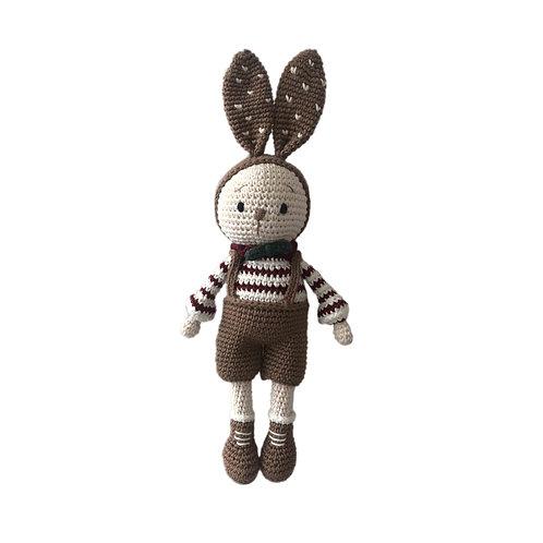 Organic cotton Amigurumi Toy Miti bunny