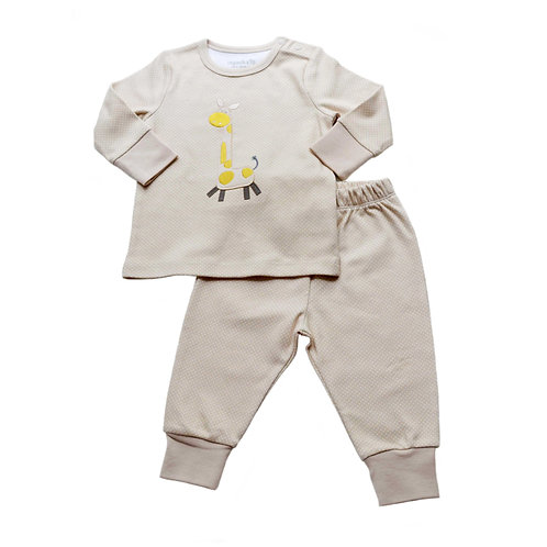 Organic Cotton Baby Pyjama Safari