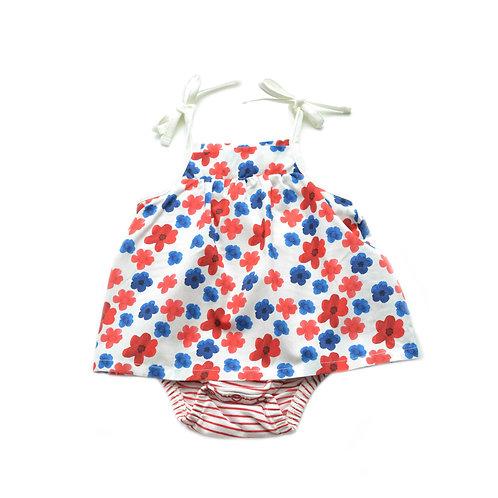 Organic Cotton Baby Dress Flora