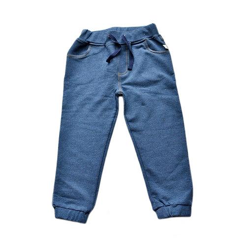 Organic Cotton Denim Toddler Pants