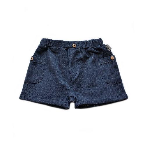 Organic Cotton Denim Baby Shorts