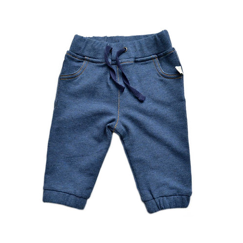 Organic Cotton Denim Baby Pants