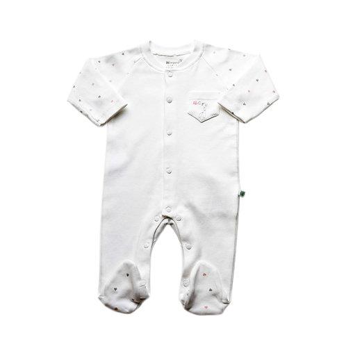 Organic Cotton Baby Jumpsuit Giraffe