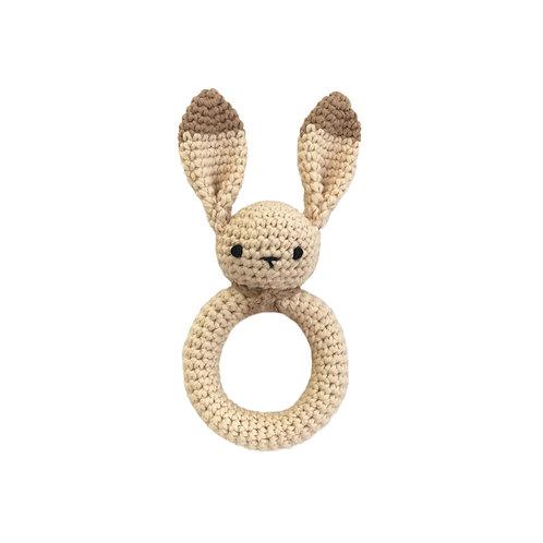 Organic cotton Amigurumi Bunny Teether