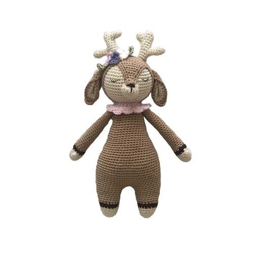 Organic cotton Amigurumi Toy Baby Deer