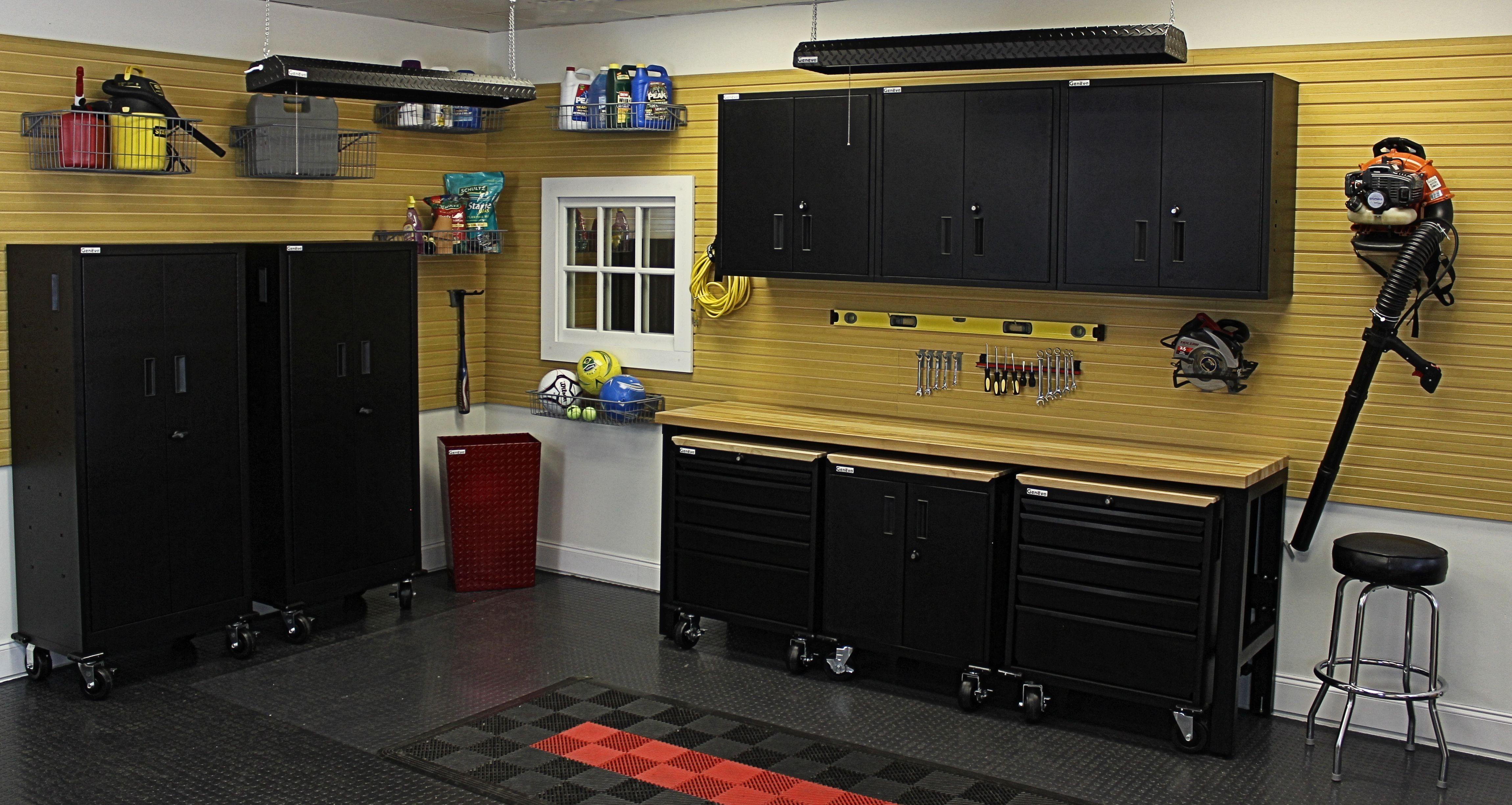 Garage Organizing - Stealth Black