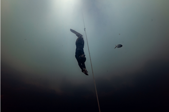 Astonishing First Day of Vertical Blue With 4 Freediving World Records
