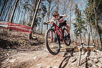 French and Swiss riders dominate rivals over steep, technical Austrian course