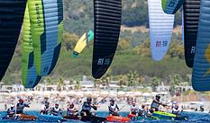 2021 KiteFoil World Series Gizzeria - Denis Taradin and Daniela Moroz win the season opener at Hang Loose Beach