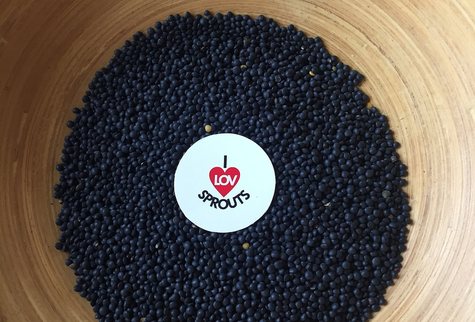 Organic Black Lentils 300 gm