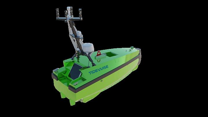 Embarcação USV Tupan.