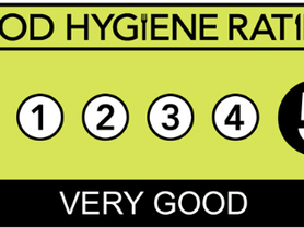 5 Star Food Hygiene Rating!