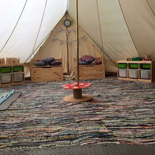 Our Bell tent ! __hiddenvalleybushcraft